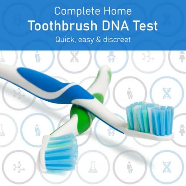 Toothbrush DNA Test