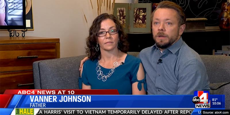 Utah couple who took DNA test 'for fun' find out that husband is not son's biological dad